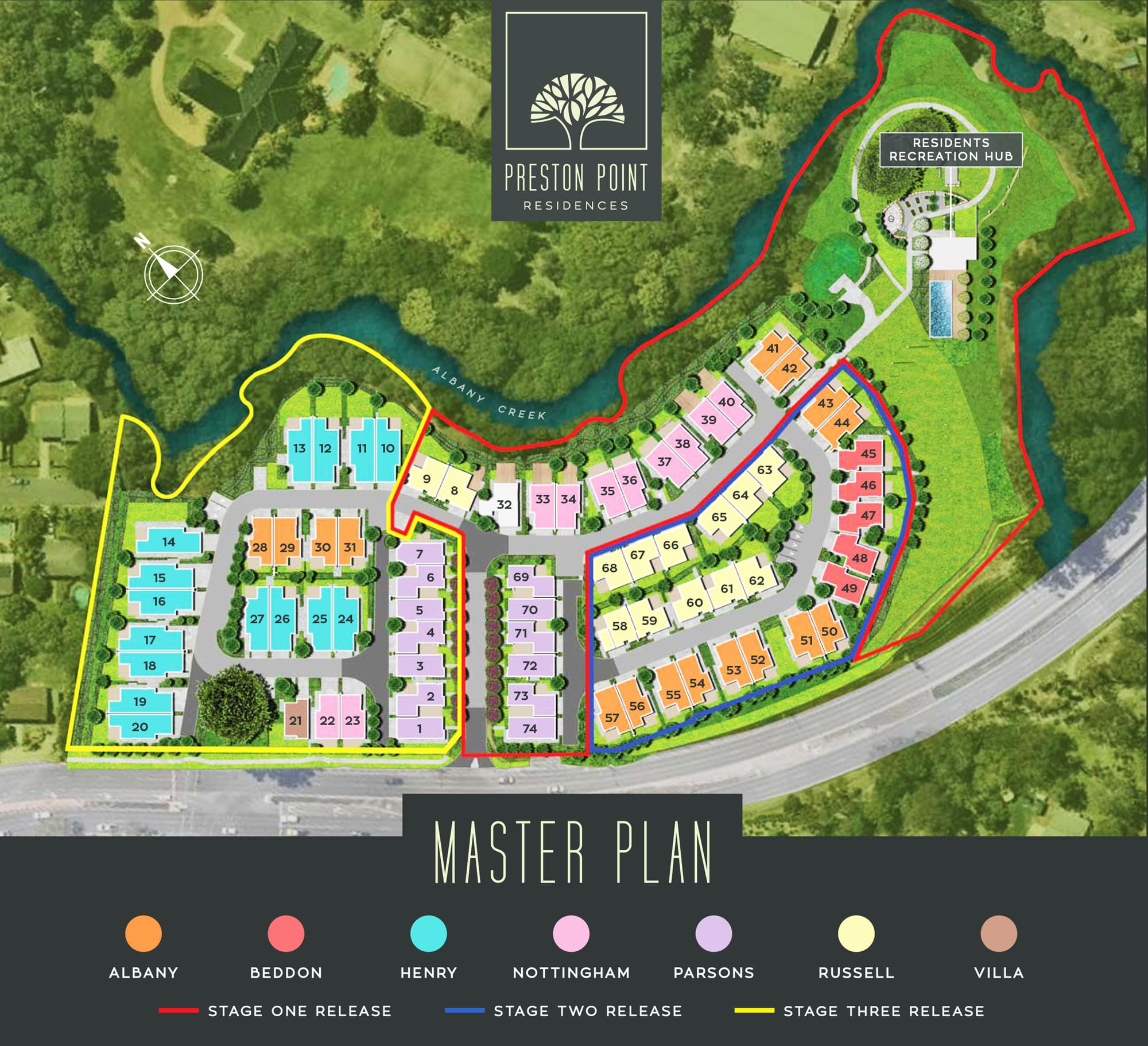 Preston Point Residences Master Plan